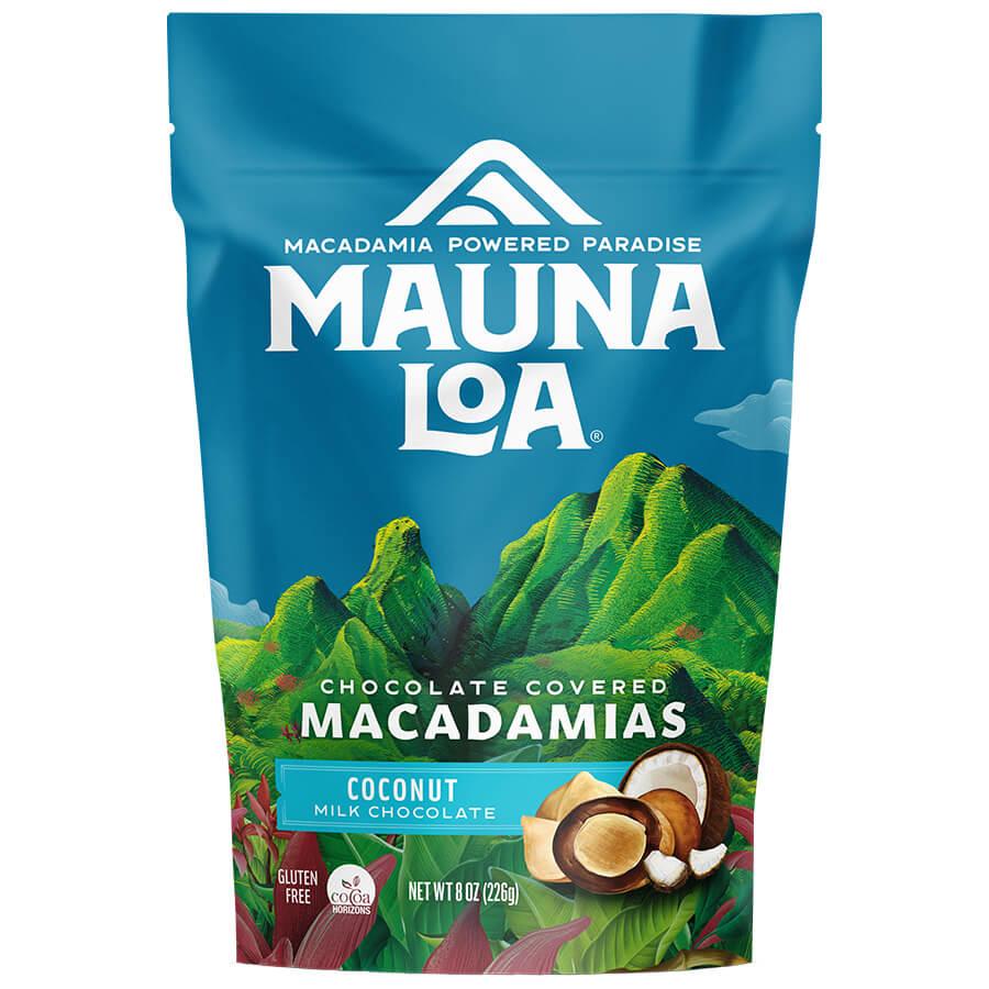 (マウナロア) ミルクチョコレート&ココナッツ・マカダミアナッツ 226g