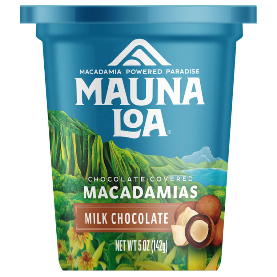 (マウナロア) ミルクチョコレート・マカダミアナッツ 142g