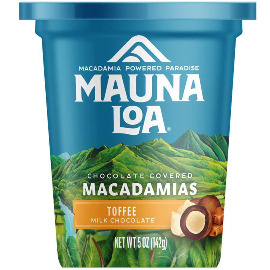 (マウナロア) ミルクチョコレート・トフィー・マカダミアナッツ 142g