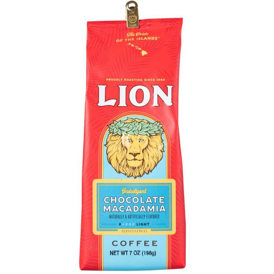 (ライオンコーヒー) チョコレートマカダミア 198g