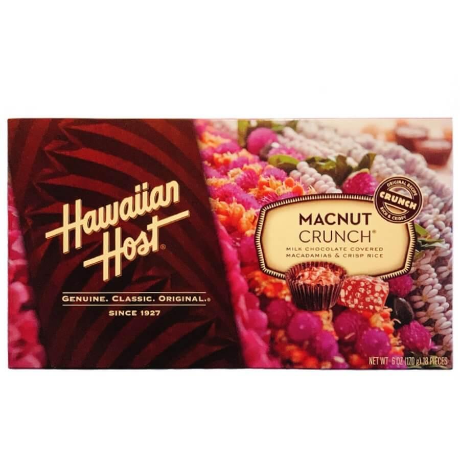 (ハワイアンホースト) マカダミアナッツ・クランチ・ギフトボックス 170g