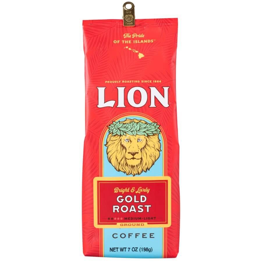 (ライオンコーヒー) ゴールドロースト 198g