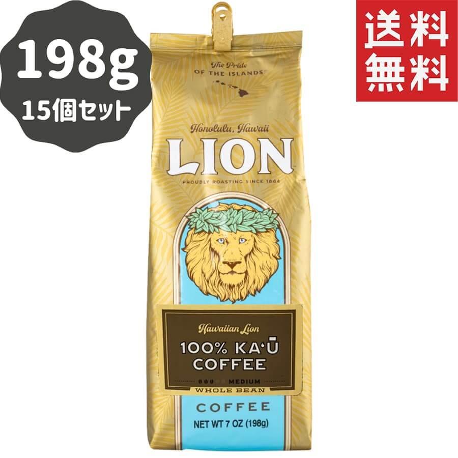 (ライオンコーヒー) 100%カウコーヒー 198g × 15個
