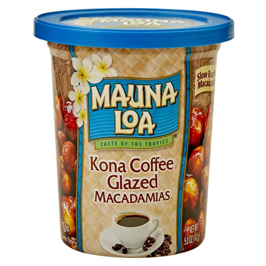 (マウナロア) コナコーヒーグレーズド・マカダミアナッツ 142g