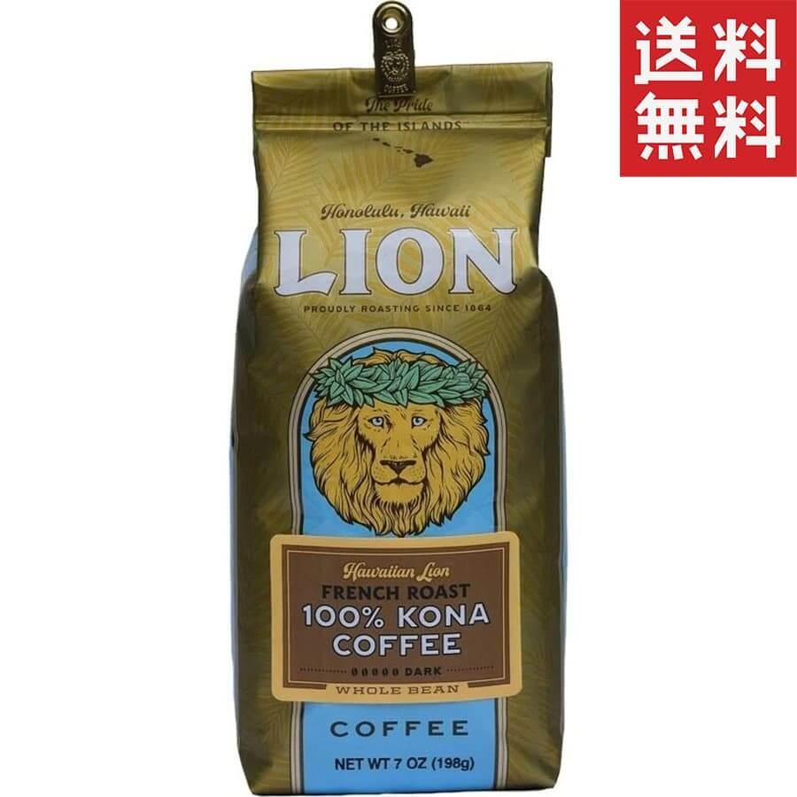 (ライオンコーヒー) 100%コナコーヒー・24K・フレンチロースト 198g
