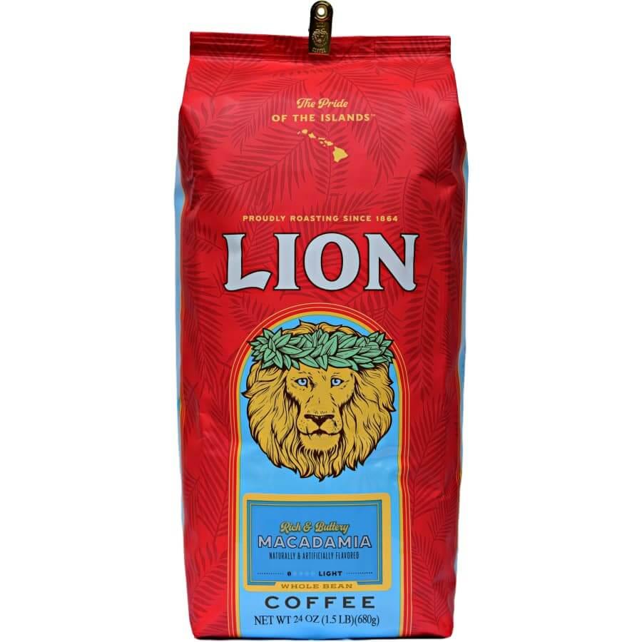 (ライオンコーヒー) マカダミア 680g