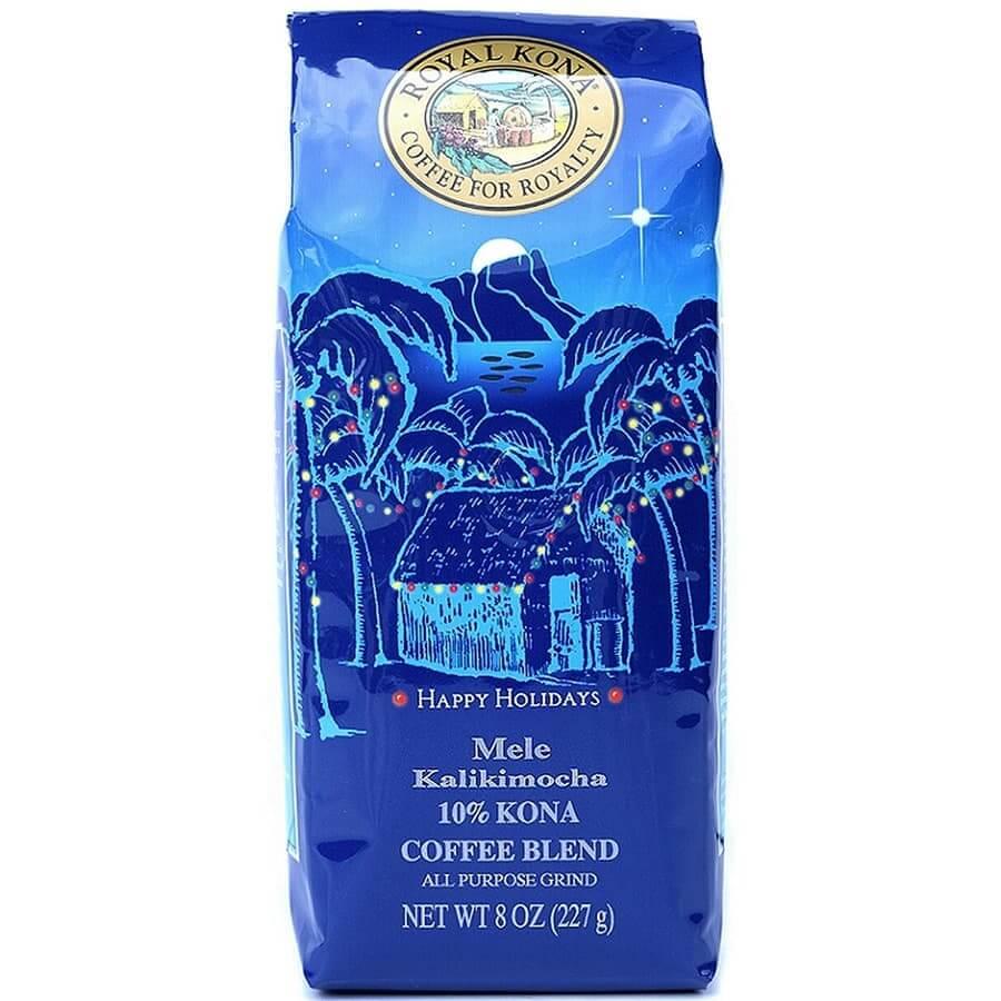 (ロイヤルコナコーヒー) メレカリキモカ・10%コナコーヒーブレンド 227g