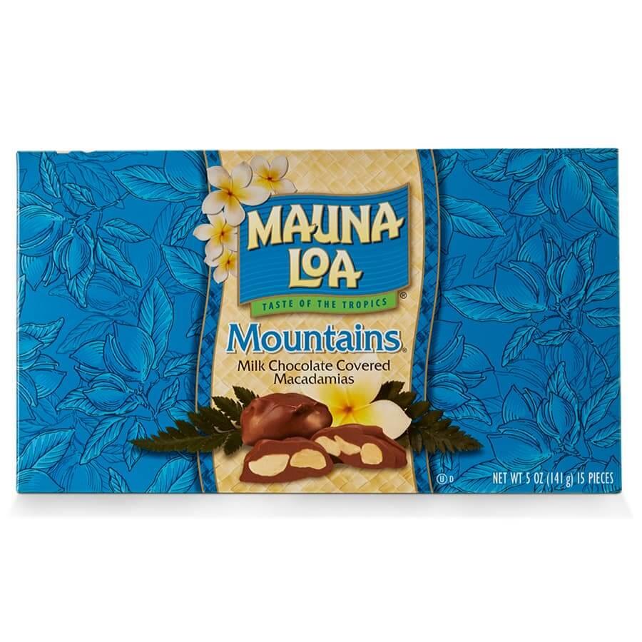 (マウナロア) ミルクチョコレート・マカダミアナッツ・マウンテン 141g