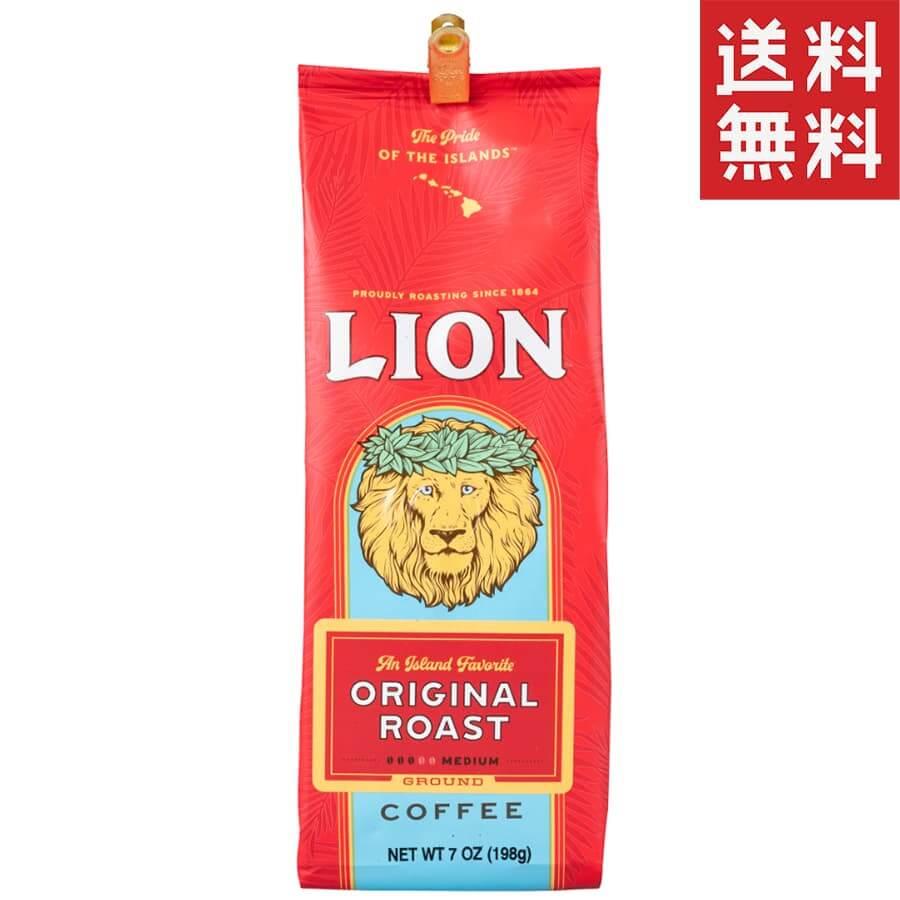 (ライオンコーヒー) オリジナルロースト 198g