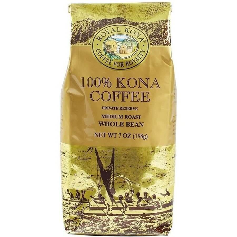 (ロイヤルコナコーヒー) 100%コナコーヒー・プライベートリザーブ 198g
