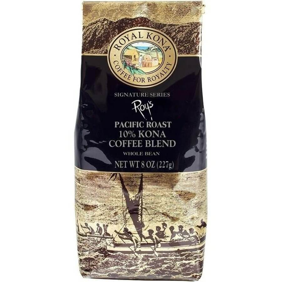 (ロイヤルコナコーヒー) ロイズ・パシフィックロースト・10%コナコーヒーブレンド 227g