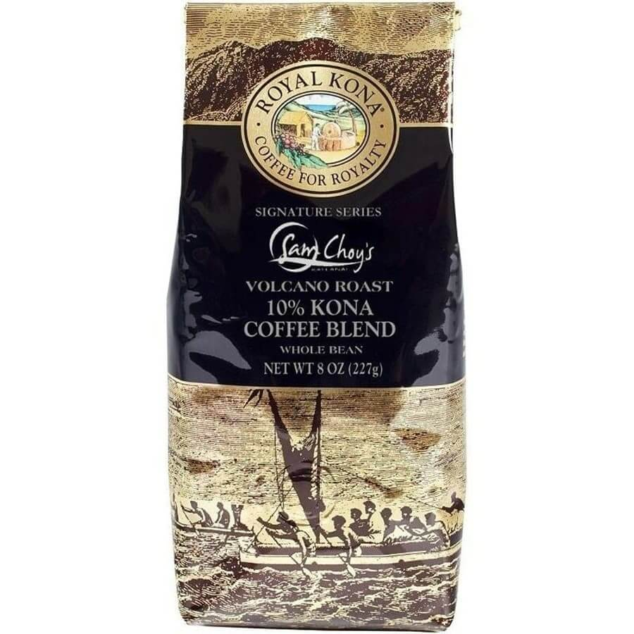 (ロイヤルコナコーヒー) サムチョイ・ボルケーノロースト・10%コナコーヒーブレンド 227g