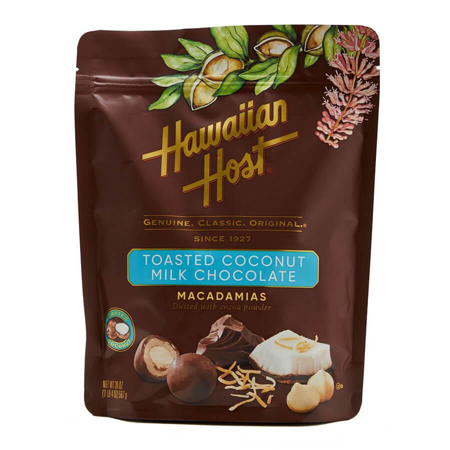 (ハワイアンホースト) トーステッドココナッツ・ミルクチョコレート 567g