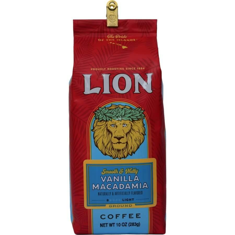 (ライオンコーヒー) バニラマカダミア 283g