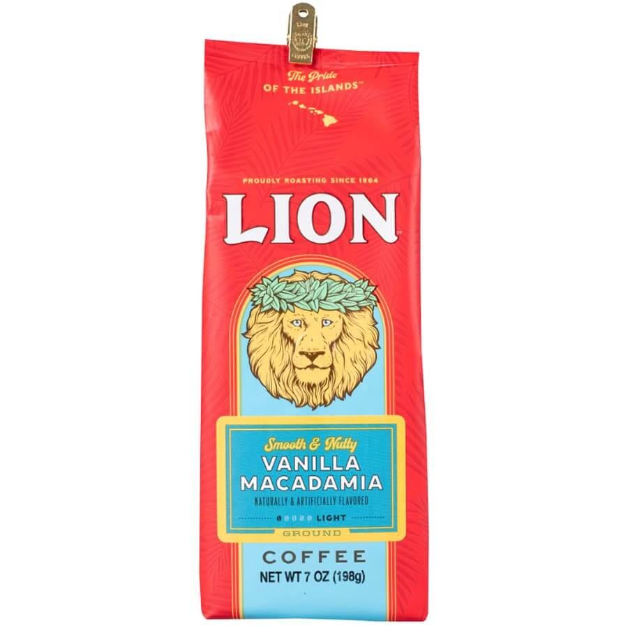 (ライオンコーヒー) バニラマカダミア 198g