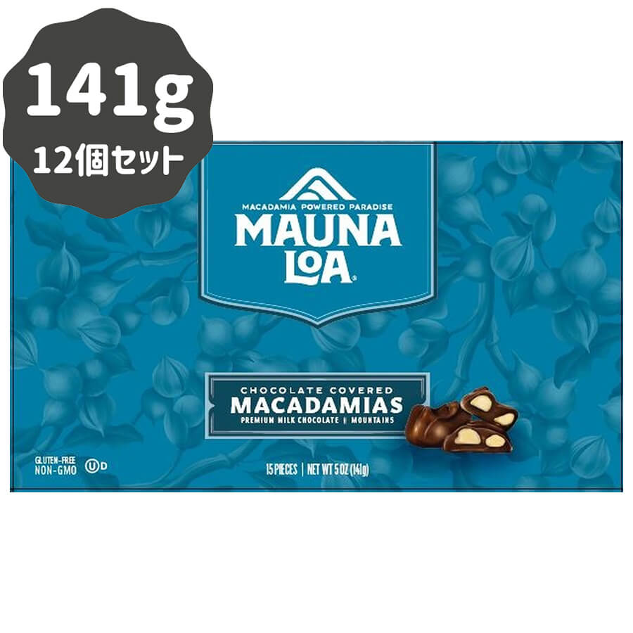 (マウナロア) ミルクチョコレート・マカダミアナッツ・マウンテン 141g × 12個セット