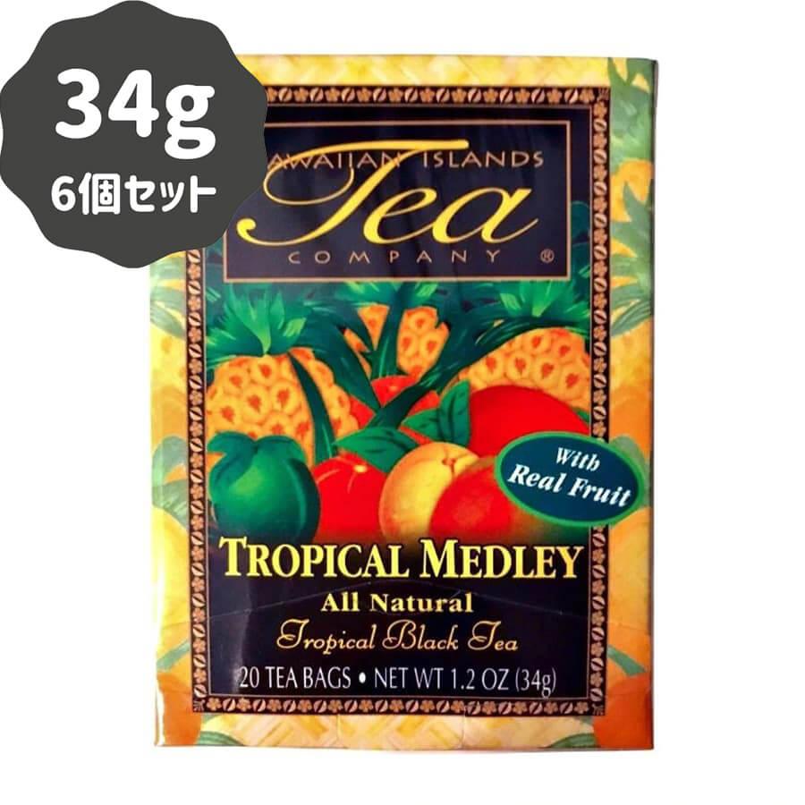 (ハワイアンアイランドティー) トロピカル・メドレー 34g (20袋) 6個セット