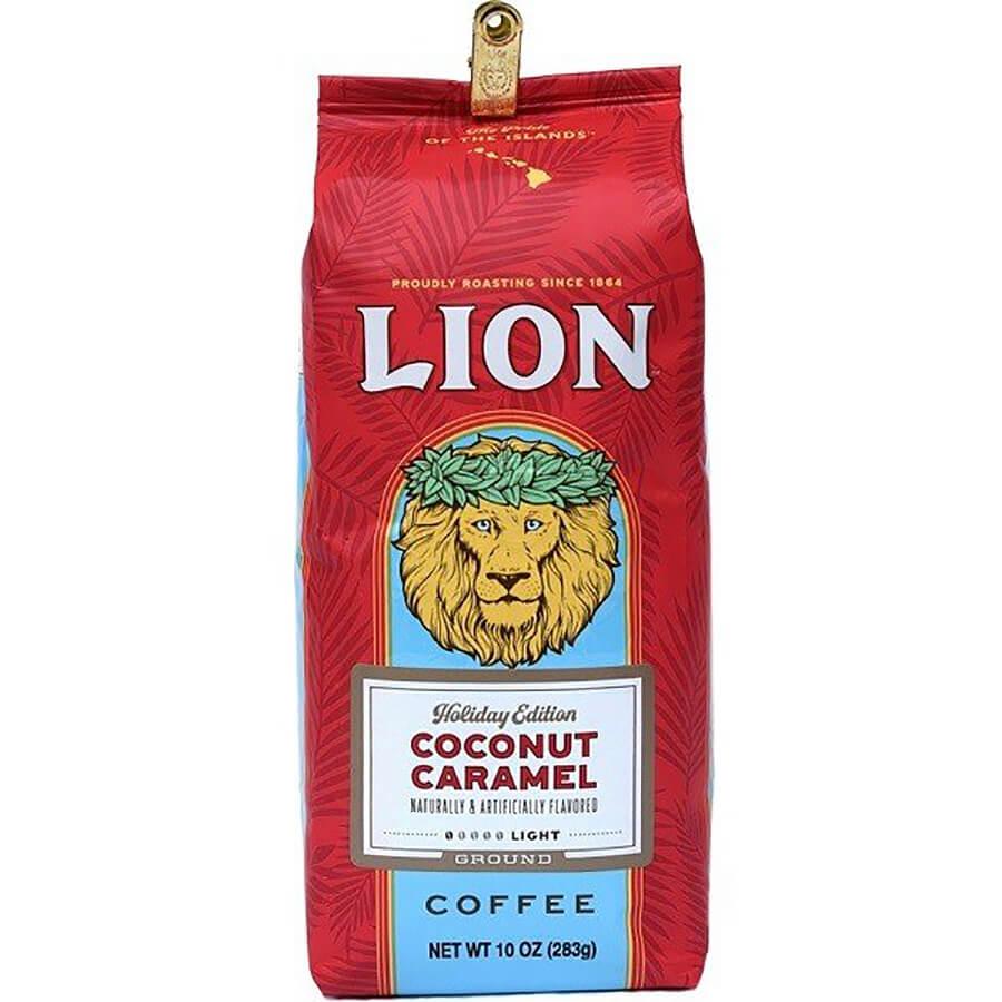 (ライオンコーヒー) ホリデーエディション・ココナッツキャラメル 283g