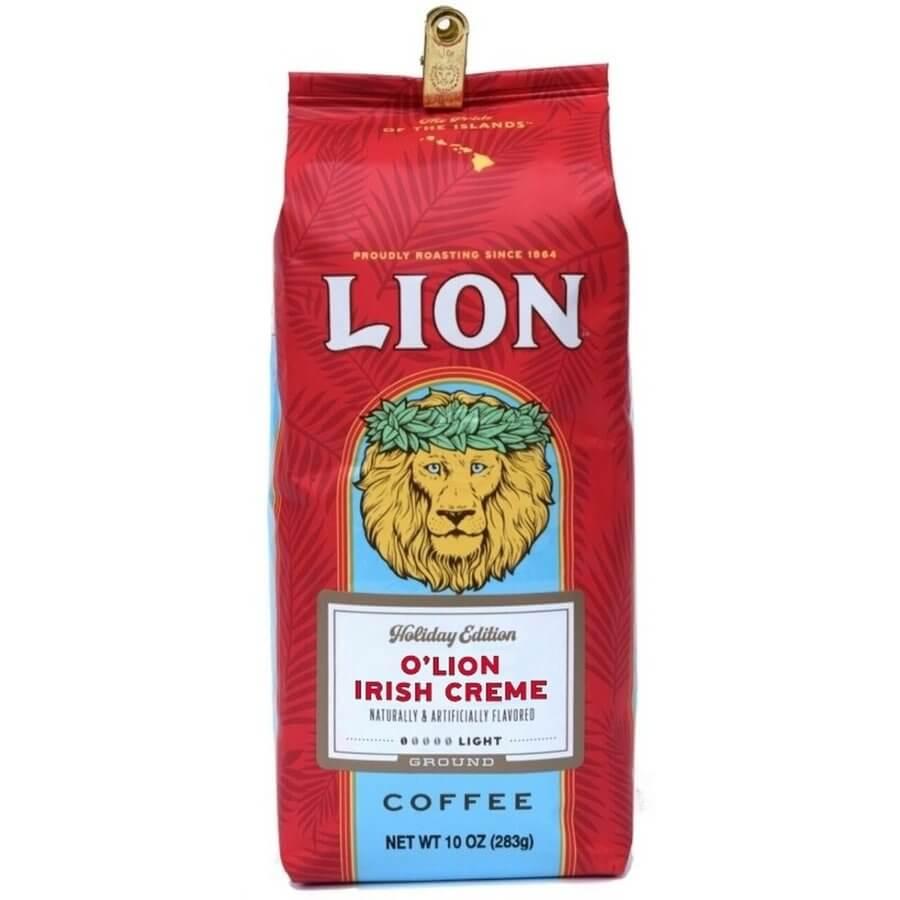 (ライオンコーヒー) ホリデーエディション・オライオン・アイリッシュクリーム 283g
