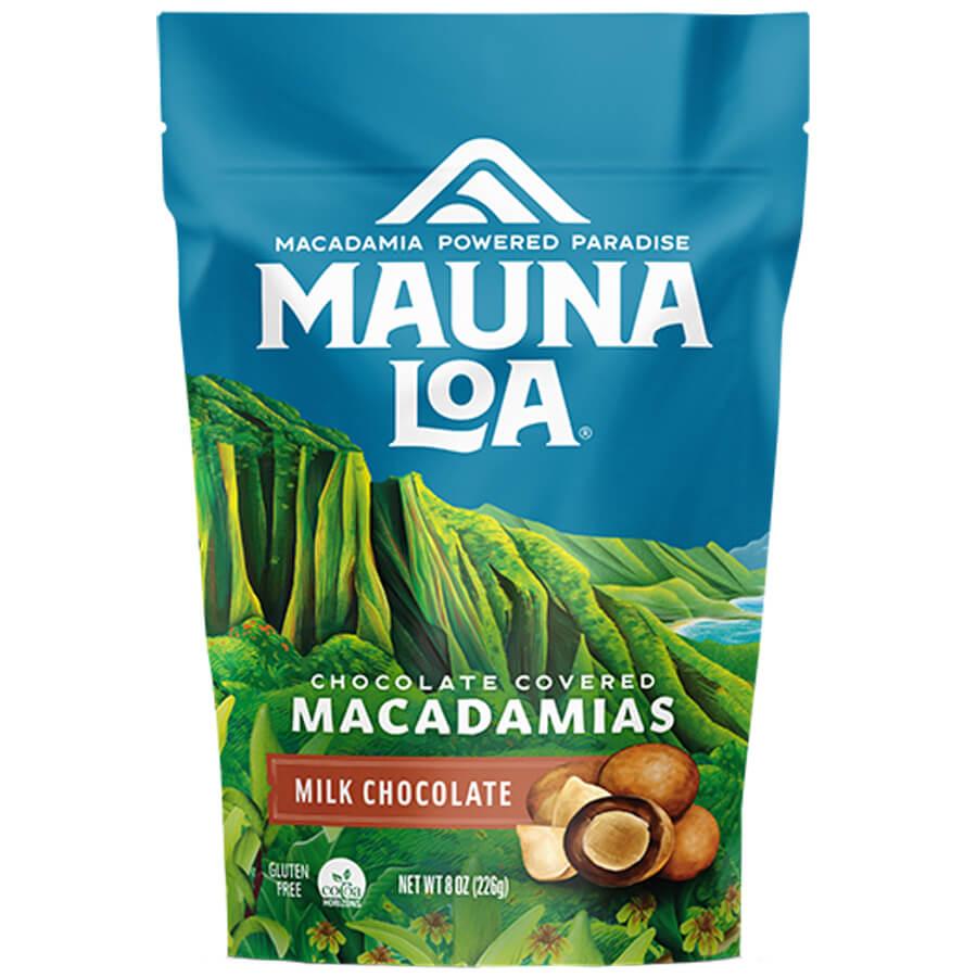 (マウナロア) ミルクチョコレート・マカダミアナッツ 226g